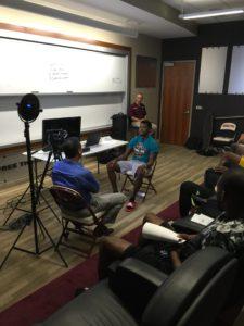 ASU hoops media training